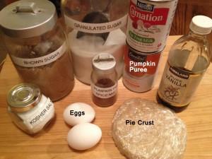 1-Fresh Pumpkin Pie_ingredients