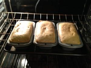 Foolproof Lightened Banana Bread_oven