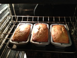 Foolproof Lightened Banana Bread_oven2