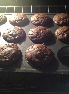 Chocolate Banana Energy Muffins 30