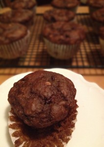 Chocolate Banana Energy Muffins 39