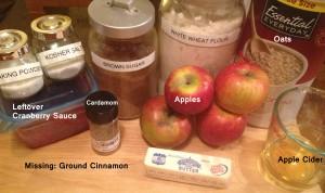 Crunchy Cranberry Apple Crisp (1)