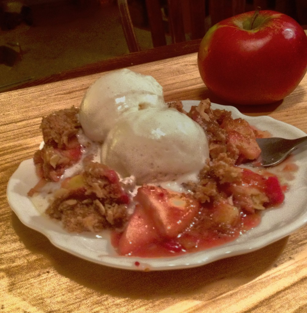 Crunchy Cranberry Apple Crisp (35)