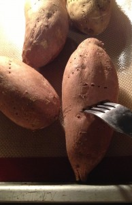 Roasted Butter Pecan Sweet Potatoes
