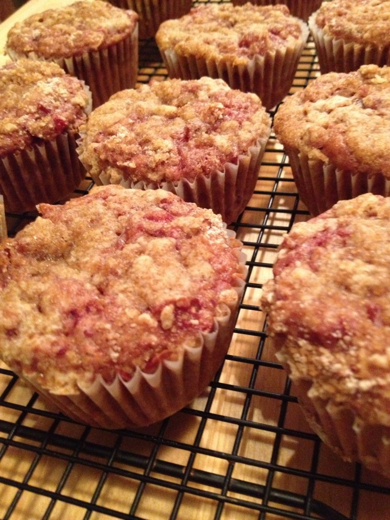 Post-Thanksgiving Cranberry Sauce Muffins