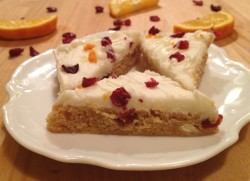Cranberry Orange Bars
