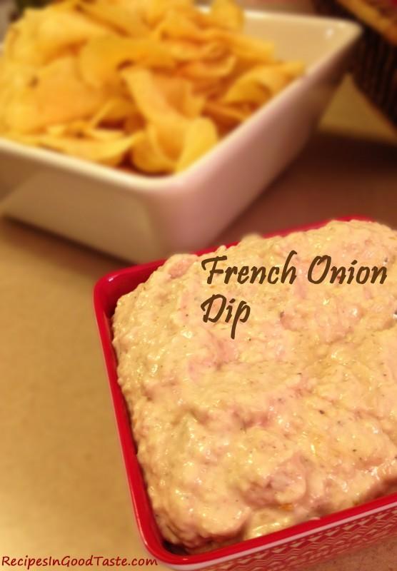 Fabulous French Onion Dip