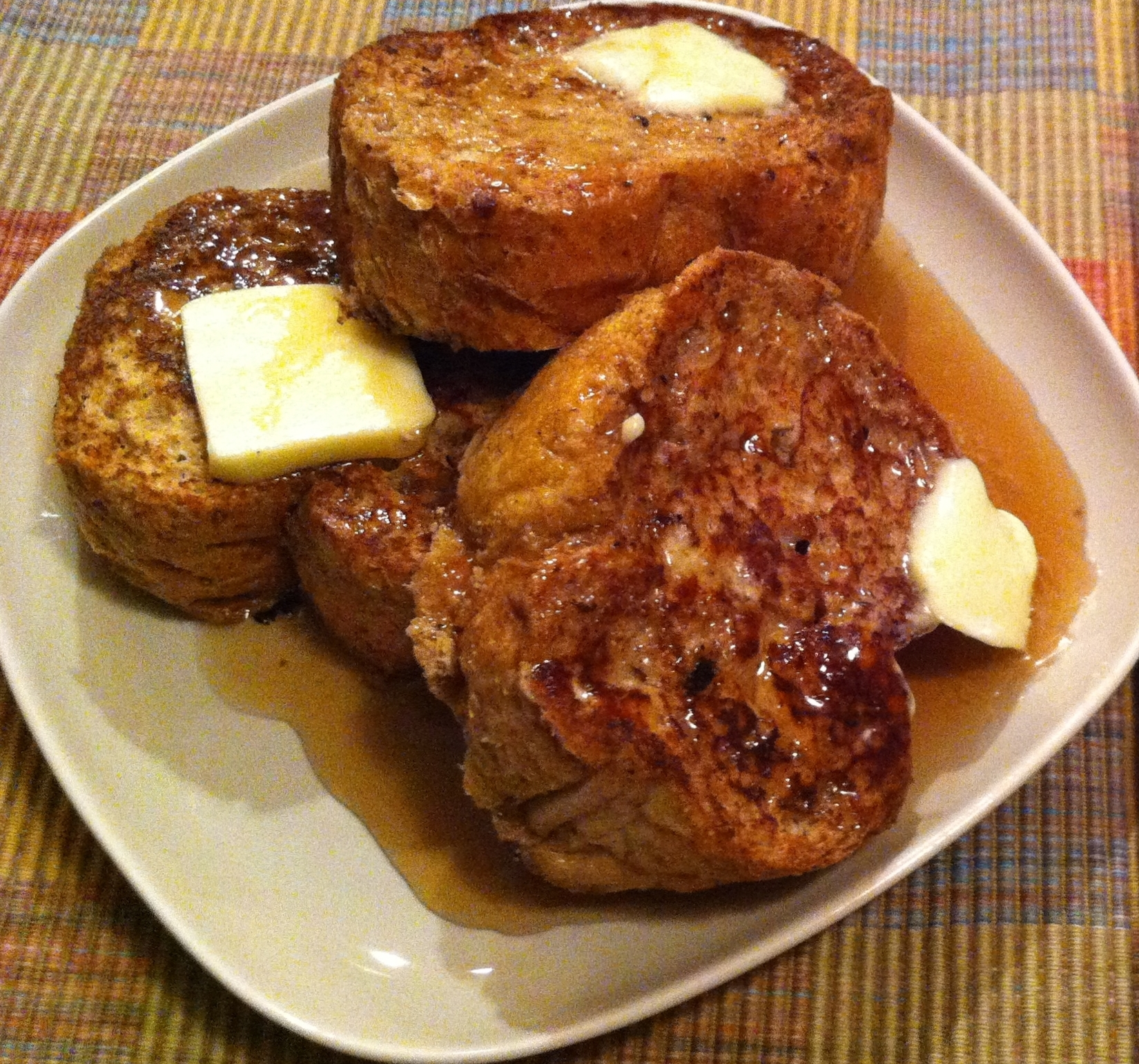 Recipes in good taste delicious comfort food recipe blog pam easy crispy french toast forumfinder Choice Image