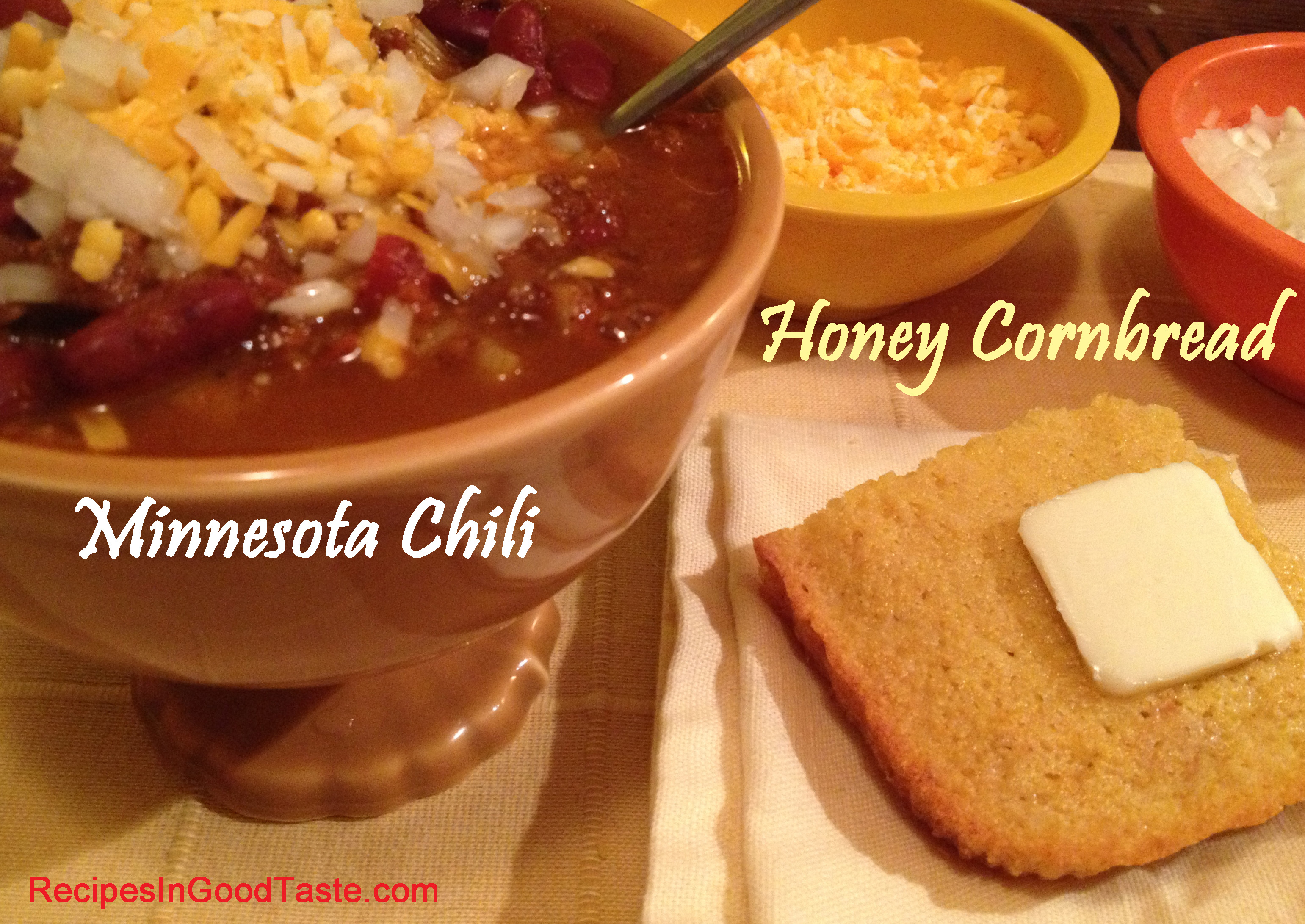 Recipes in good taste delicious comfort food recipe blog pam this is one of the best cornbread recipes ive made so far its simple and delicious i love the crusty sweet texture and its beautifully paired with my forumfinder Images