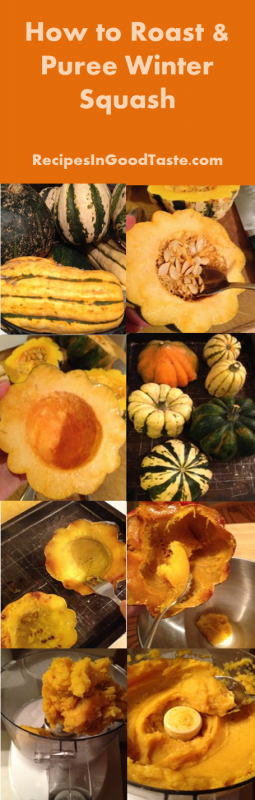 How to Roast and Puree Winter Squash String