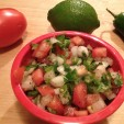 Fresh Spicy Tomato Salsa