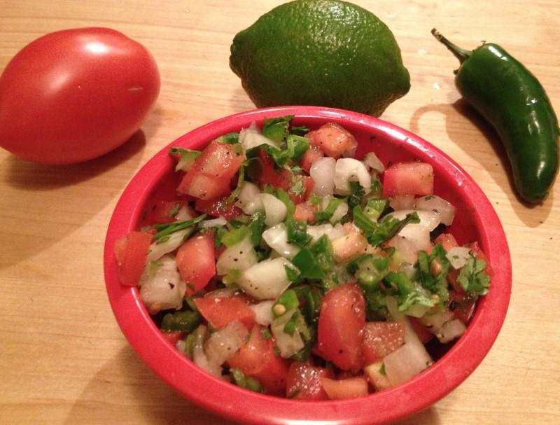 Fresh Spicy Tomato Salsa