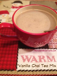 Vanilla Chai Tea Mix