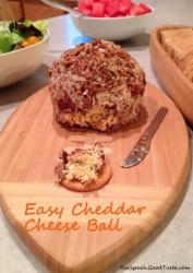 Cheddar Cheese Ball