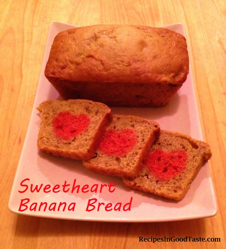 Sweetheart Banana Bread