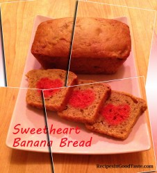 Sweetheart Banana Bread