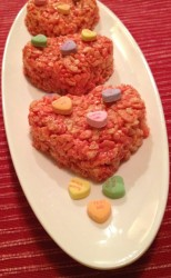 Valentine Crispy Rice Treats