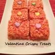Valentine Crispie Treats
