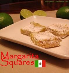 Margarita Squares