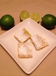 Lime Margarita Squares