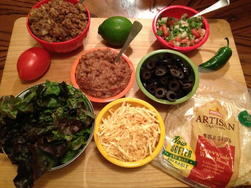 Dawn & Don's Meat & Potato Taco Meat