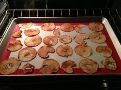 Oven Baked Apple Chips